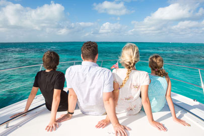 Cayman private charters on our 48' Sea Ray Sundancer are available now from Five Star Charters. Book yours today – reservations are filling fast!