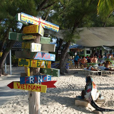 rum point beach - a Grand Cayman must do - Five Star Charters Cayman
